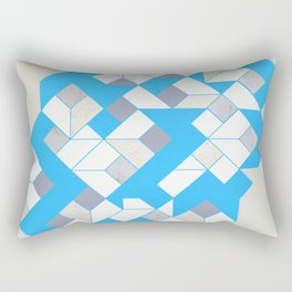 frost blue Rectangular Pillow