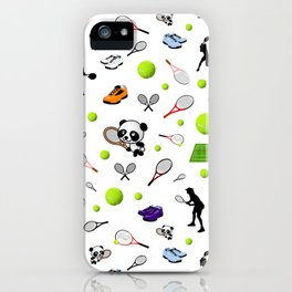 Anyone for tennis? iPhone Case