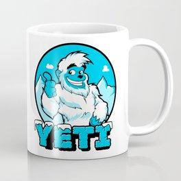 Smiling cartoon yeti Coffee Mug