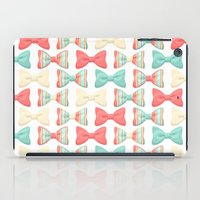 bows iPad Cases featuring bows by melazerg