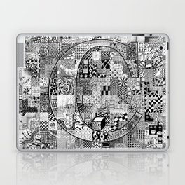 The Letter C Laptop & iPad Skin