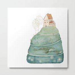 The sea house #2 Metal Print