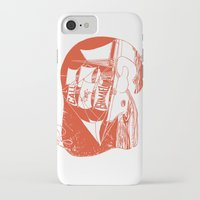 moby dick iPhone & iPod Cases featuring Moby Dick by Paul McCreery