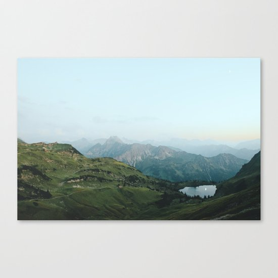 Abyssal landscape photography Canvas Print