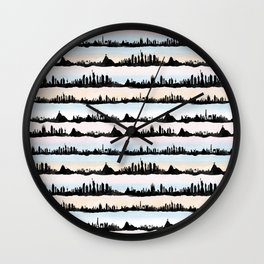 Cities Wall Clock
