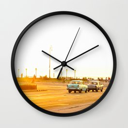 Cuban sunset Wall Clock