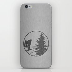 Hiking iPhone & iPod Skin