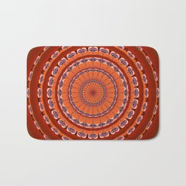 Fall to Winter Mandala Bath Mat