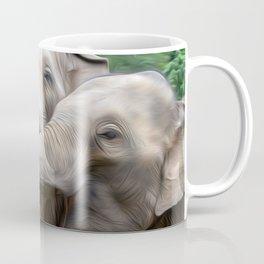 Elephants Art One Coffee Mug