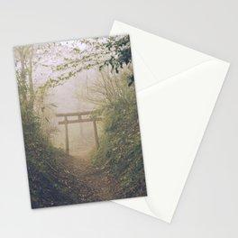 Shrine in Okunoin cemetery of Koyasan, Japan 002 Stationery Cards