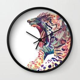 the Leopard Wall Clock