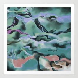 Waves In Harmony Art Print