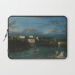 Bernardo Bellotto - Vaprio d'Adda Laptop Sleeve