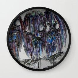 Zombie Trio Wall Clock