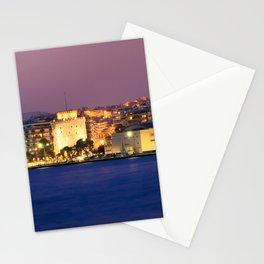 Thessaloniki Nights Stationery Cards