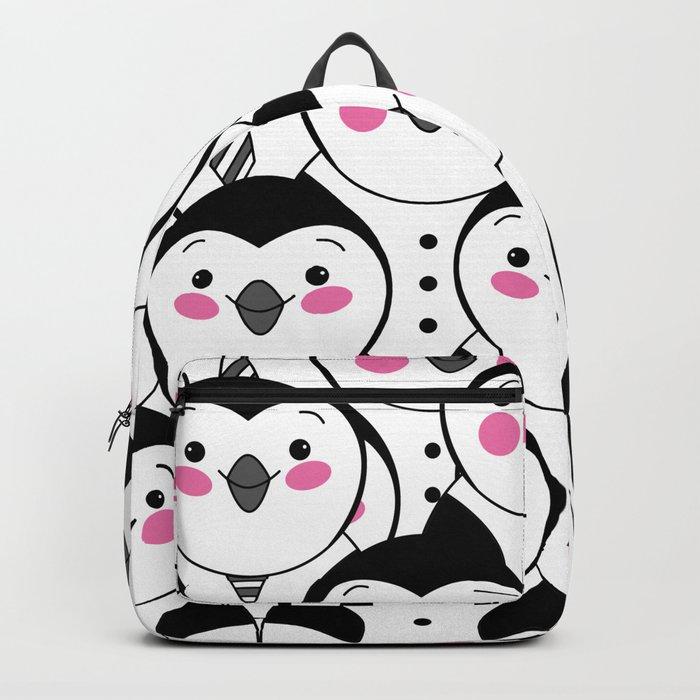 cute penguin Backpack