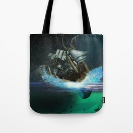 Kraken Attack Tote Bag