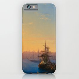 Ivan Aivazovsky - View of Constantinople and the Bosphorus iPhone Case