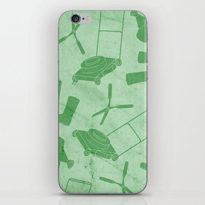 GARDEN TOOL KIT PATTERN iPhone Skin