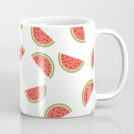WATERMELON SLICES WITH SEEDS FRUIT FOOD PATTERN Coffee Mug