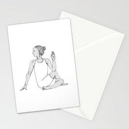 yoga pose 6 Stationery Cards