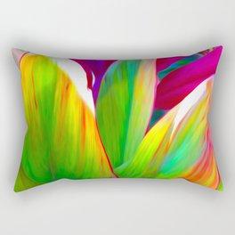 Sacred Ti Leaf Rectangular Pillow