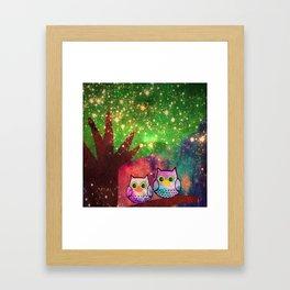owl-143 Framed Art Print