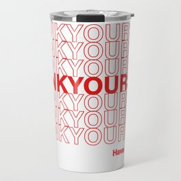 THANKYOURSELF Travel Mug
