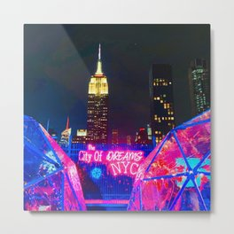 Dreaming of NYC Metal Print