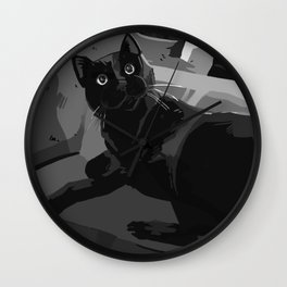 Ciaran the Cat Wall Clock