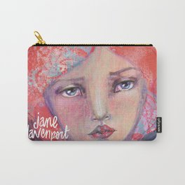 Folie by Jane Davenport ( with logo) Carry-All Pouch