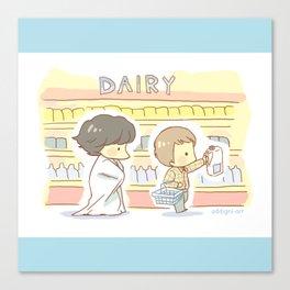 Groceries Canvas Print