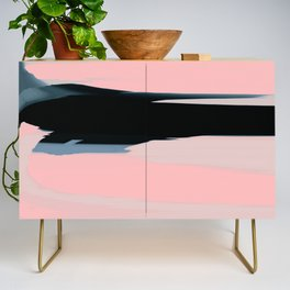 Soft Determination Peach Credenza