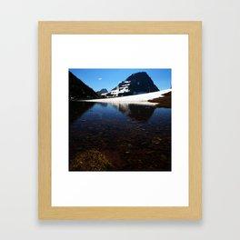 Going To The Sun Framed Art Print