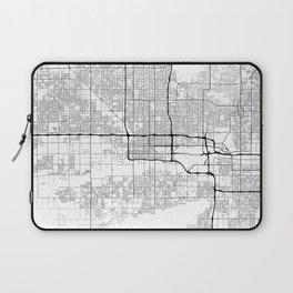 Minimal City Maps - Map Of Phoenix, Arizona, United States Laptop Sleeve