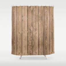 Wood I Shower Curtain
