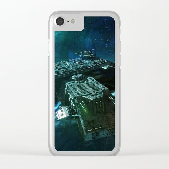 Journey home Clear iPhone Case