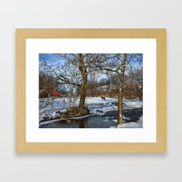 Wild In Country Framed Art Print
