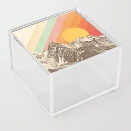 Mountainscape 1 Acrylic Box