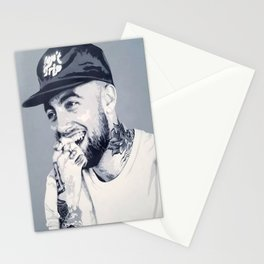 Mac Miller Spray Painting Stationery Cards