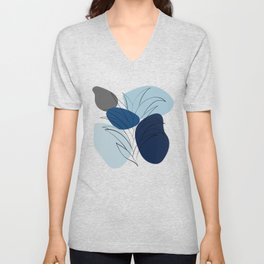 Abstract shapes 11 Unisex V-Neck