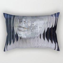 Through the Looking Glass Rectangular Pillow