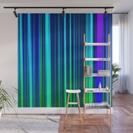 Eggplant LED Sculpture Light Painting Wall Mural