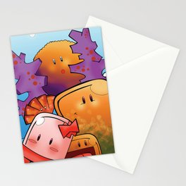 Art Water Stationery Cards