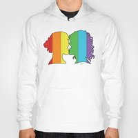 lesbian Hoodies featuring Lesbian Love  by Winter Graphics