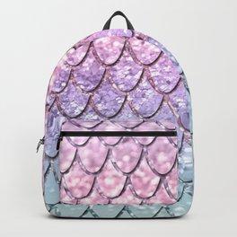 Mermaid Scales on Unicorn Girls Glitter #1 #shiny #pastel #decor #art #society6 Backpack