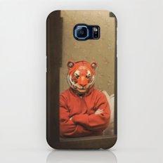 He Waits Silently  Galaxy S7 Slim Case