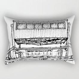 Ferris Wheel, Vienna Rectangular Pillow