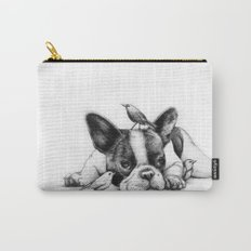 Frenchie and the Birds Carry-All Pouch