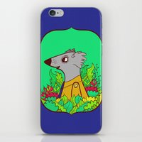 einstein iPhone & iPod Skins featuring Einstein by Popnyville